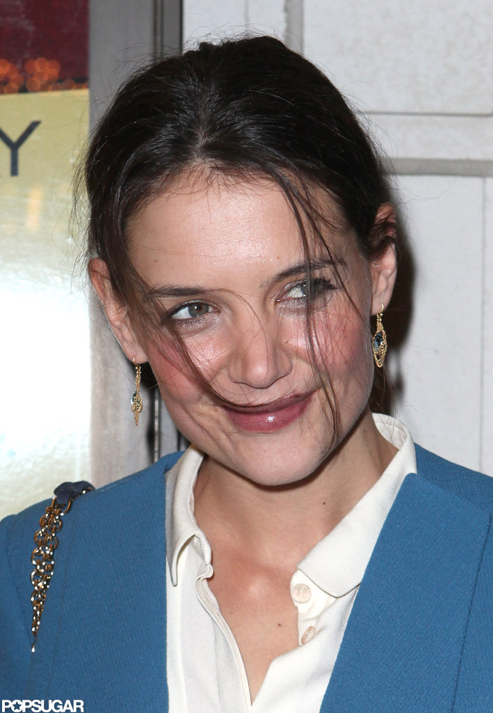 Katie Holmes hit Broadway for a show.