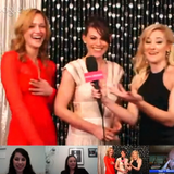 Kerry Bishe and Clea DuVall Critics' Choice Awards (Video)