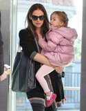 Jennifer Garner and Seraphina ran errands.
