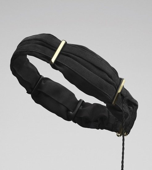 Twine Silk Black & Gold ($200)