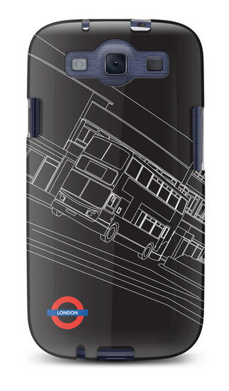 Night Bus Galaxy S III Case ($30)