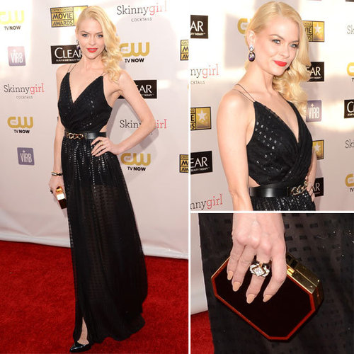 Pics of Jaime King in Jason Wu 2013 Critic's Choice Awards