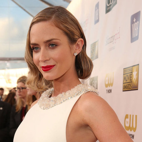 Pictures of Emily Blunt at the Critics Choice Awards