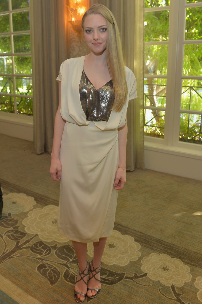 Amanda Seyfriend attended the tea party.