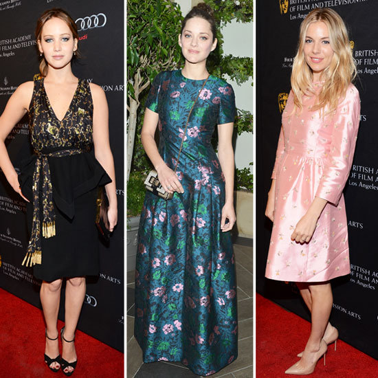 Marion Cotillard and Sienna Miller Join the A-List Style Set at the BAFTA Tea Party