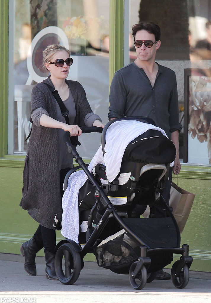 Anna Paquin and Stephen Moyer Step Out With Their Twins