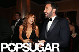 Ben Affleck and Kristen Wiig shared a laugh.