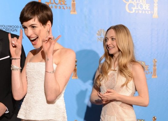 Anne Hathaway and Amanda Seyfried