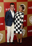 Jessica Alba and Brad Goreski paired up at the party.