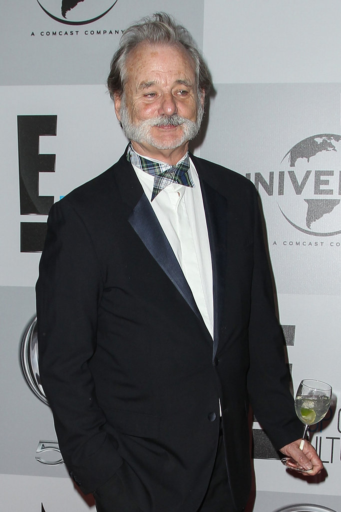 Bill Murray sported a bow tie.