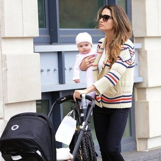 Lily Aldridge and Daughter Dixie in NYC | Pictures