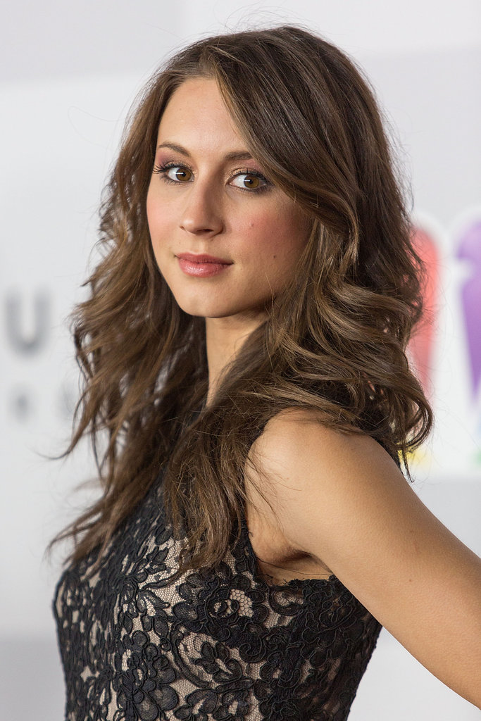 Troian Bellisario dropped by the event.