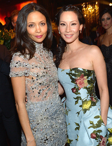 Thandie Newton and Lucy Liu