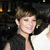She had a spell as a pixie-cut brunette in 2001.