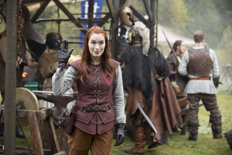 "Felicia Day returns to Supernatural as Charlie for ""LARP and the Real Girl."""