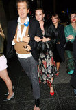 Kate Moss and Mario Testino went clubbing at LA's Teddy's in January 2006.