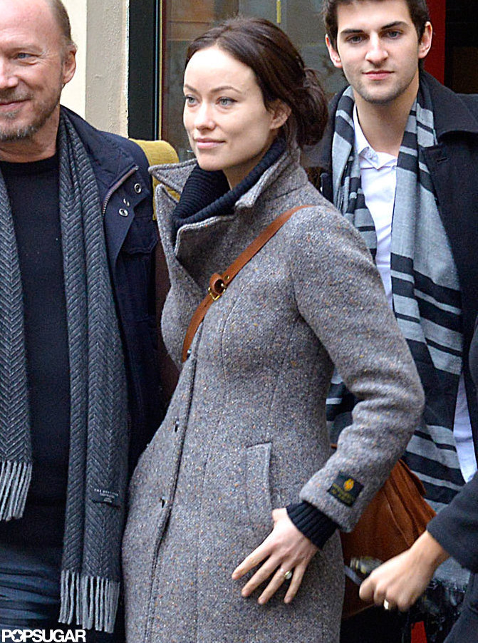 Olivia Wilde walked around Rome with her castmates.