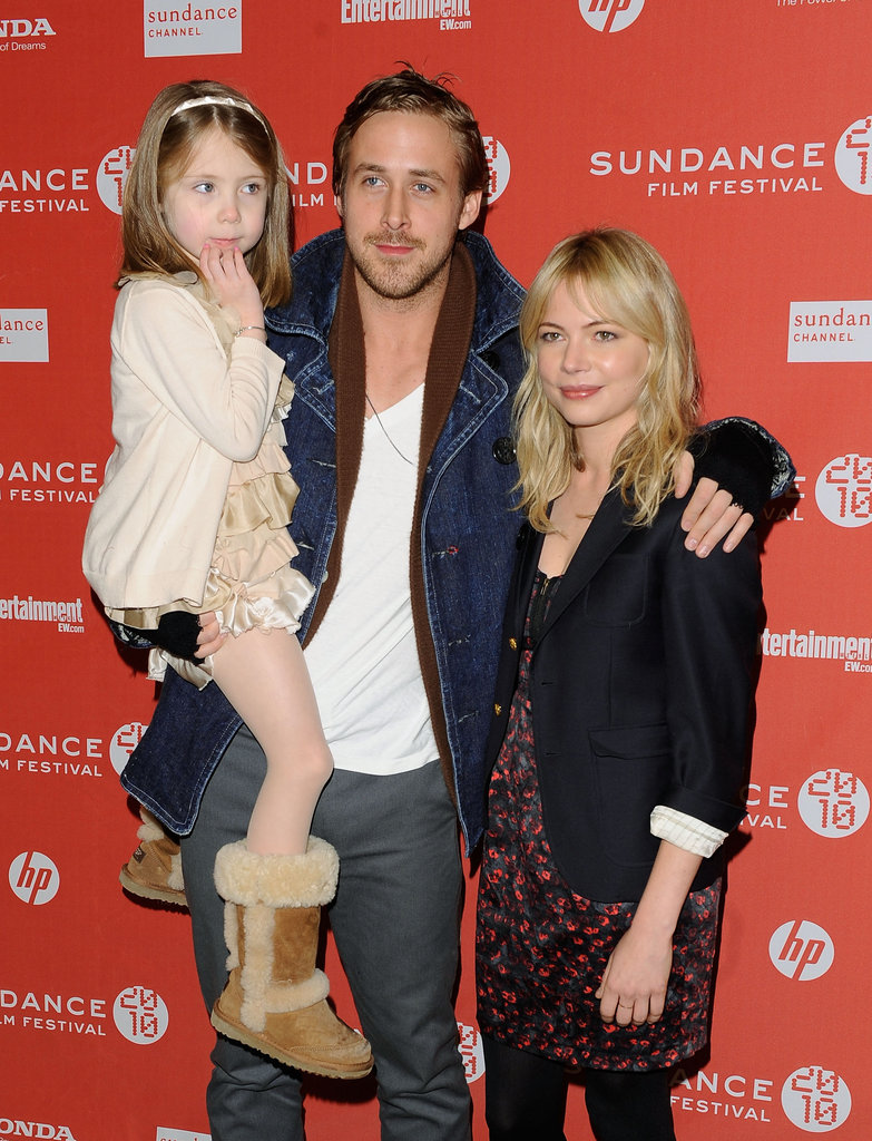 Ryan Gosling and Michelle Williams premiered Blue Valentine at Sundance in 2010.