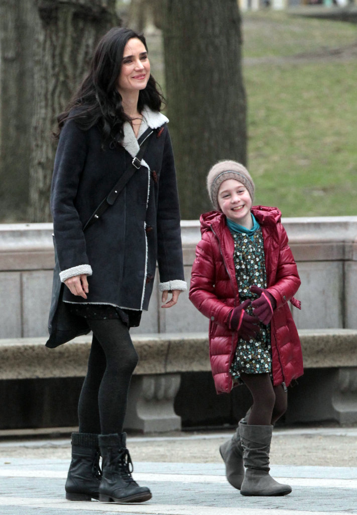 Jennifer Connelly filmed Winter's Tale in NYC.