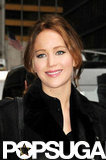 "Jennifer Lawrence Explains Her ""I Beat Meryl"" Globes Speech to Letterman"