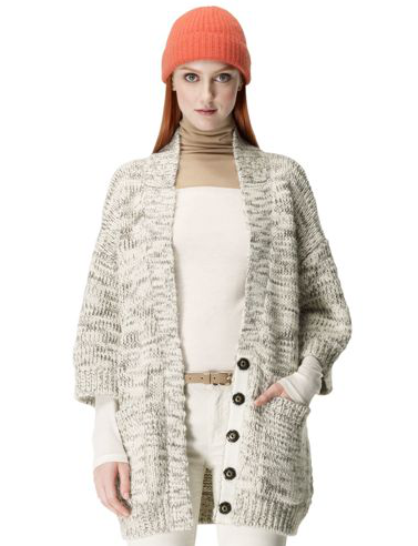 Club Monaco's Sarah cardigan ($129, originally $190) will add a cozy touch to just about any look.