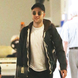 Robert Pattinson Pictures at Melbourne Airport