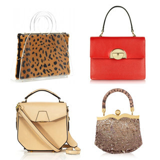Accessories Trend: Small & Large Top-Handle Structured Bags