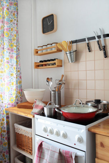 Small Kitchen Wall Storage