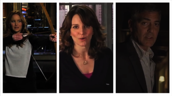 Video: Top 5 Viral Videos — George Clooney, Tina Fey, Jennifer Lawrence, and More!