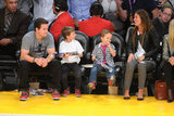 Leo, Mark, Hilary and More Make Up a Star-Studded Lakers Crowd