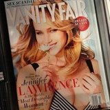 How gorgeous is Jennifer Lawrence on the cover of Vanity Fair?