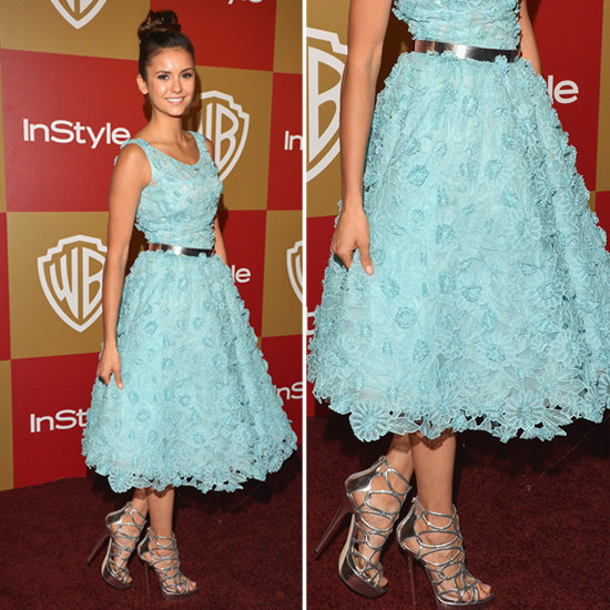 Your breakout style star, Nina Dobrev went for an Oscar de la Renta fit-and-flare dress at the InStyle afterparty. Did you vote on her look yet? Find all of our red-carpet and afterparty polls here!