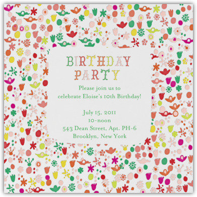 Childrens Birthday Invites is good invitations template