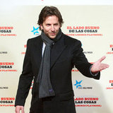 Bradley Cooper Pictures at Silver Linings Playbook Madrid
