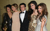 Young stars Vanessa Hudgens, Ashley Tisdale, Josh Hutcherson, Selena Gomez and Sarah Hyland attended a Golden Globes after-party at The Beverly Hilton hotel on January 13.