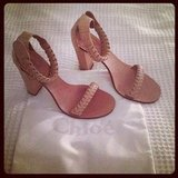 Alison's Chloé heels have been getting a good work out with all these hot Summer nights!