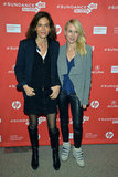 Naomi Watts posed for photos with director Anne Fontaine.