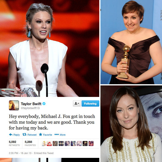 Tweets Of The Week: Taylor Swift, Lena Dunham, Olivia Wilde & More!