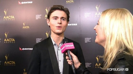 Video: Callan McAuliffe Talks Playing Young Leonardo DiCaprio in Gatsby