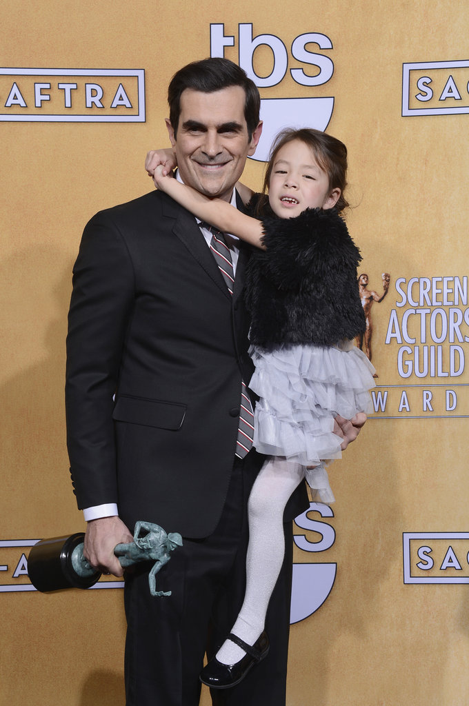 Ty Burrell and Aubrey Anderson-Emmons