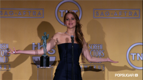 "Video: Jennifer Lawrence Jokes About Her ""Idiot"" Teen Self & Learning ""to Shut Up"""