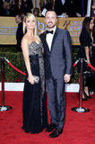 Aaron Paul had Lauren Parsekian by his side for the SAG Awards.