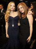 Amanda Seyfriend and Isla Fisher posed together.