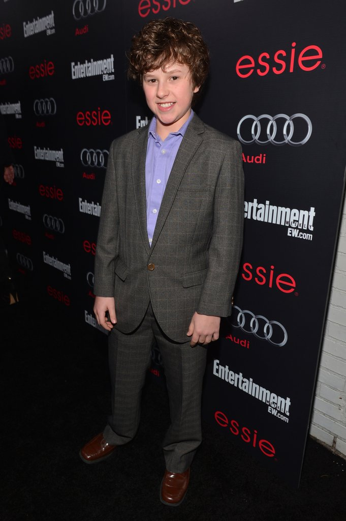 Modern Family actor Nolan Gould hit the black carpet for Entertainment Weekly Pre-SAG party in LA.