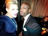 Busy Philipps and Taye Diggs goofed off before presenting a SAG award.  Source: Twitter User BusyPhilipps25
