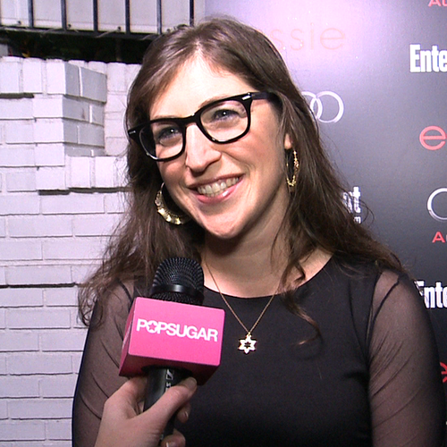 Mayim Bialik Interview at SAG Awards Party (Video)