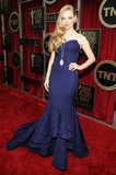 Amanda Seyfried on the red carpet at the 2013 SAG Awards.