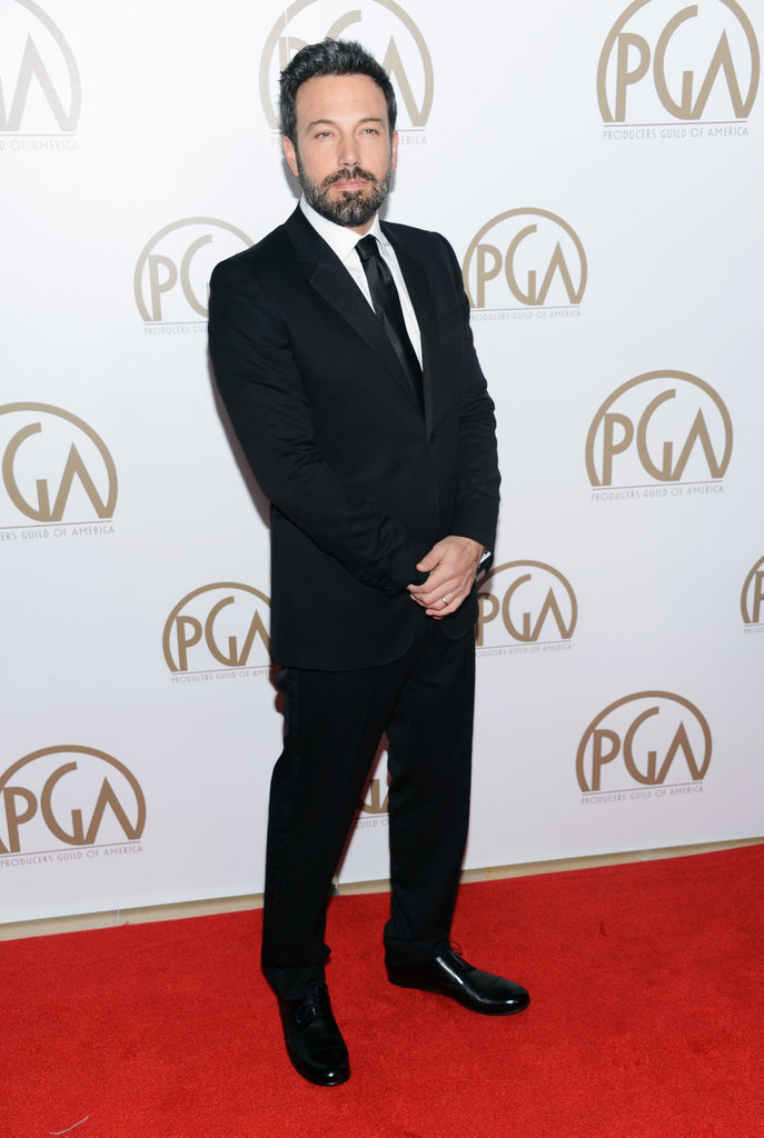 Ben and Jen Celebrate Argo's Wins at the Star-Studded Producers Guild Awards