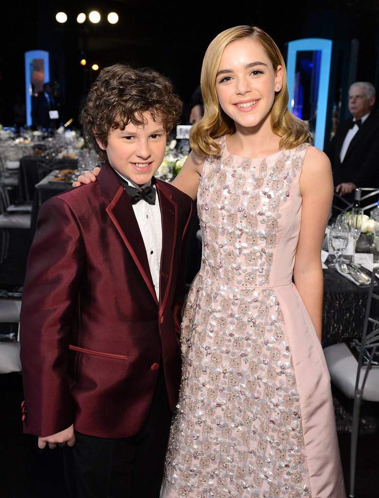 mad men kiernan shipka modern family s nolan gould met up