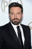 Ben Affleck wore a suit and tie to the Producers Guild Awards.